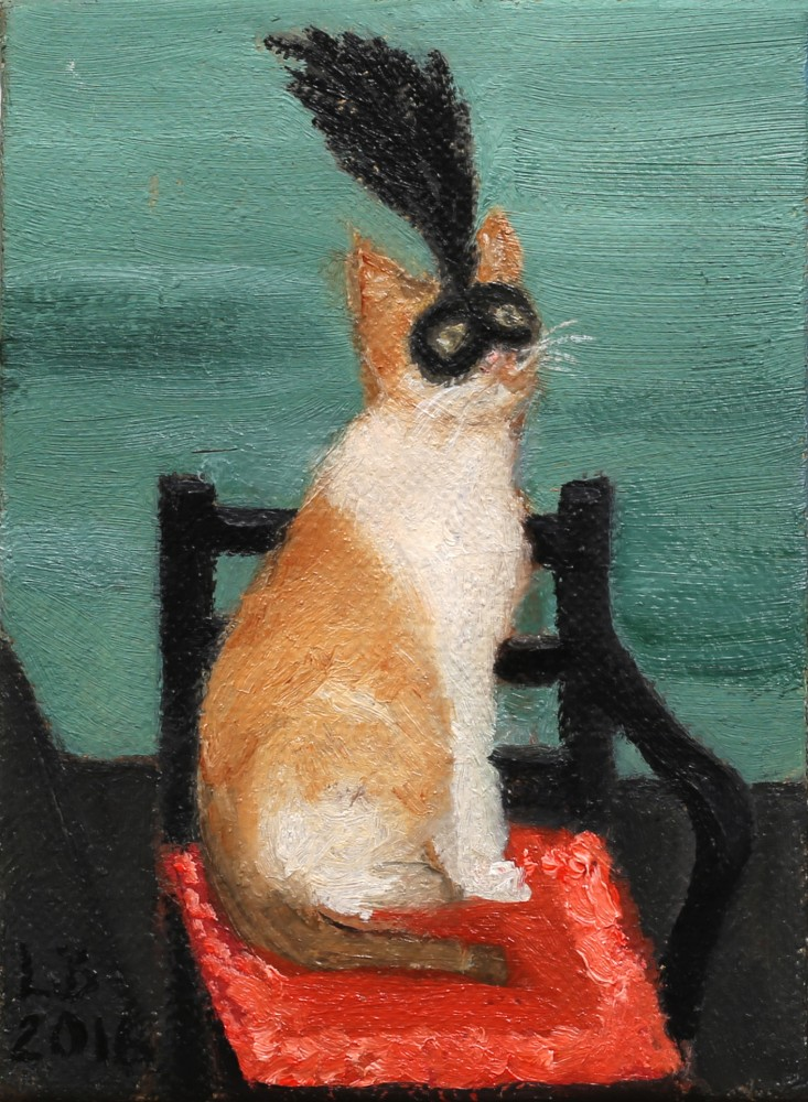 Carnivale Cat by Lisa Barmby