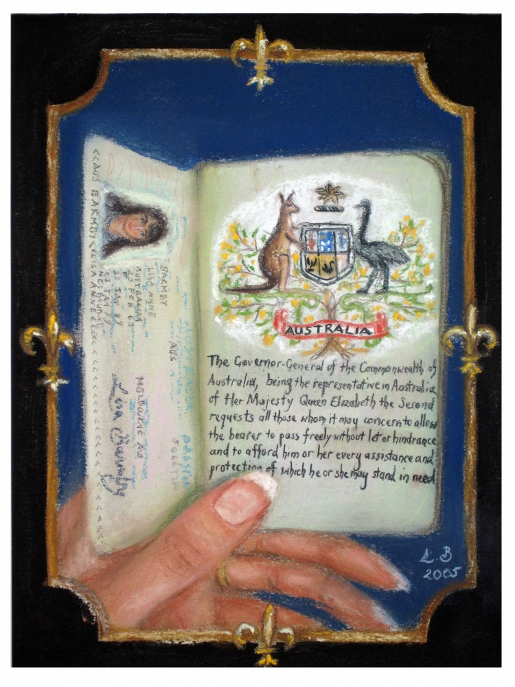 Passport by Lisa Barmby